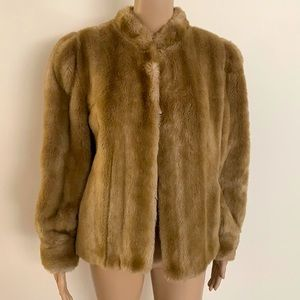 VINTAGE | Otex Melbourne faux fur jacket